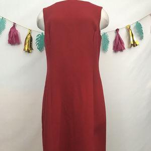 Talbots Women's  red Dress Size 10